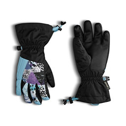 The North Face GORE-TEX Montana Kids Gloves, Nimbus Blue-TNF Black-Bellflow, 256