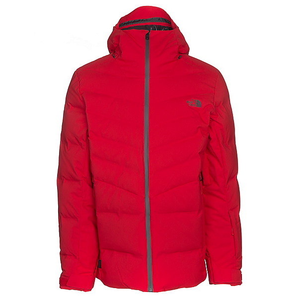 The North Face Cirque Down Mens Insulated Ski Jacket, Centennial Red, 600