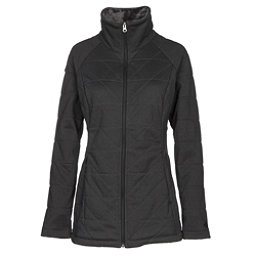The North Face Knit Stitch Fleece Womens Jacket, TNF Dark Grey Heather, 256