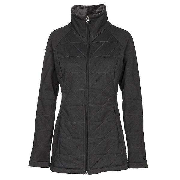 The North Face Knit Stitch Fleece Womens Jacket, TNF Dark Grey Heather, 600