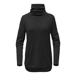 The North Face Woodland Tunic Womens Sweater, TNF Black, 256