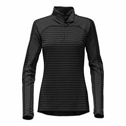 The North Face Duomix 1/4 Zip Womens Mid Layer, TNF Black, 256