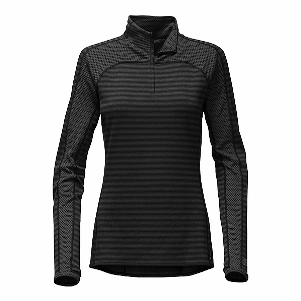 The North Face Duomix 1/4 Zip Womens Mid Layer, TNF Black, 600
