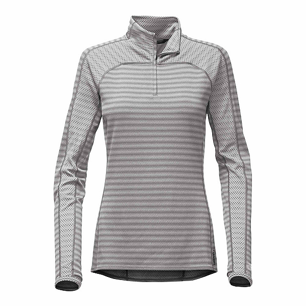 The North Face Duomix 1/4 Zip Womens Mid Layer, Monument Grey, 600