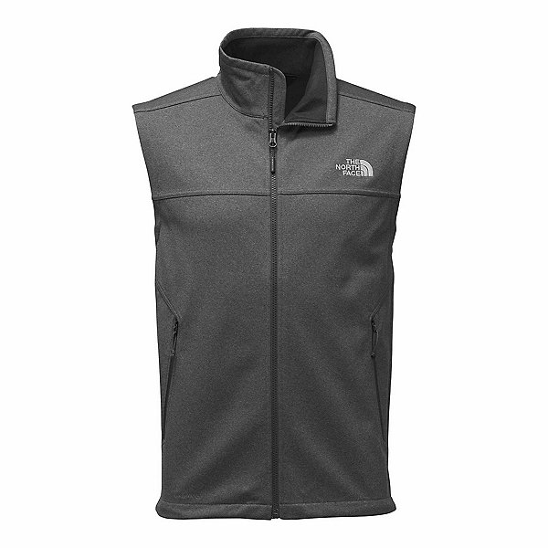 The North Face Apex Canyonwall Mens Vest, TNF Dark Grey Heather-TNF Dark, 600