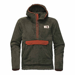 The North Face Campshire Pullover Mens Hoodie, New Taupe Green-Brandy Brown, 256