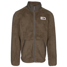 The North Face Campshire Full Zip Mens Jacket, Burnt Olive Green, 256