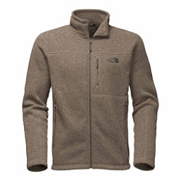 The North Face Gordon Lyons Full Zip Mens Sweater, Falcon Brown Heather, 256