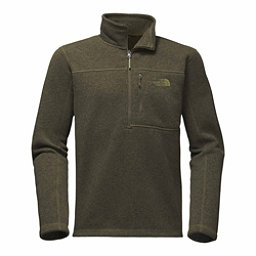 The North Face Gordon Lyons 1/4 Zip Mens Sweater, New Taupe Green Heather, 256