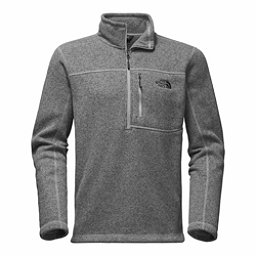 The North Face Gordon Lyons 1/4 Zip Mens Sweater, TNF Medium Grey Heather, 256