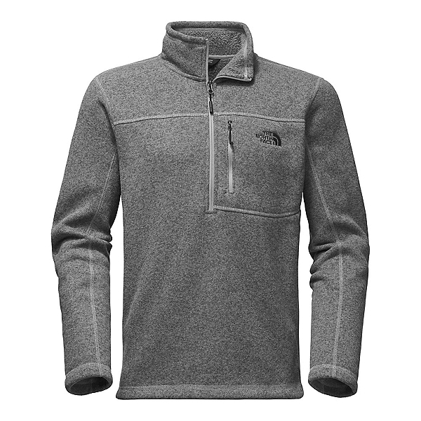 The North Face Gordon Lyons 1/4 Zip Mens Sweater, TNF Medium Grey Heather, 600