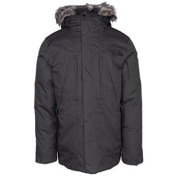 The North Face Outer Boroughs Parka w/Faux Fur Mens Jacket, TNF Dark Grey Heather, 256