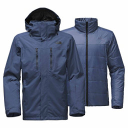 The North Face Clement Triclimate Mens Insulated Ski Jacket, Shady Blue, 256