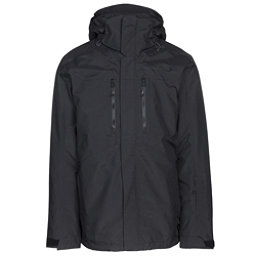 The North Face Clement Triclimate Mens Insulated Ski Jacket, TNF Black, 256