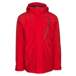 The North Face Descendit Mens Insulated Ski Jacket, Centennial Red, 256
