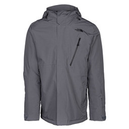 The North Face Descendit Mens Insulated Ski Jacket, Turbulence Grey, 256