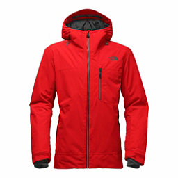 The North Face Maching Mens Insulated Ski Jacket, Centennial Red, 256