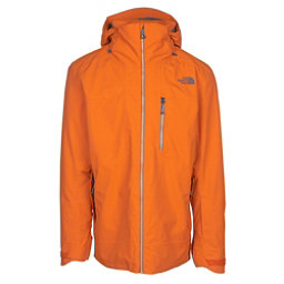 The North Face Maching Mens Insulated Ski Jacket, Hawaiian Sunset Orange, 256