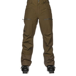 The North Face Powder Guide Mens Ski Pants, Military Olive, 256