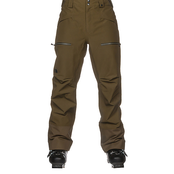 The North Face Powder Guide Mens Ski Pants, Military Olive, 600