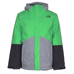 The North Face Boundary Triclimate Boys Ski Jacket, Krypton Green, 256