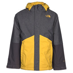 The North Face Boundary Triclimate Boys Ski Jacket, TNF Medium Grey Heather, 256