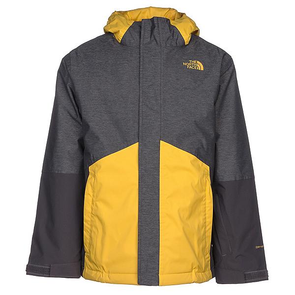 The North Face Boundary Triclimate Boys Ski Jacket, TNF Medium Grey Heather, 600