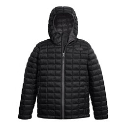 The North Face ThermoBall Hoodie Kids Midlayer, TNF Black, 256