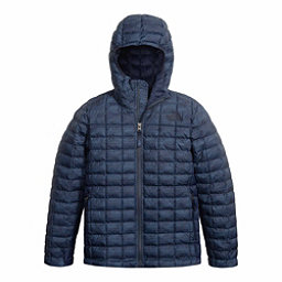 The North Face ThermoBall Hoodie Kids Midlayer, Cosmic Blue Chain Print, 256