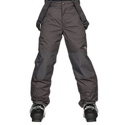 The North Face Snowquest Suspender Kids Ski Pants, Graphite Grey, 256