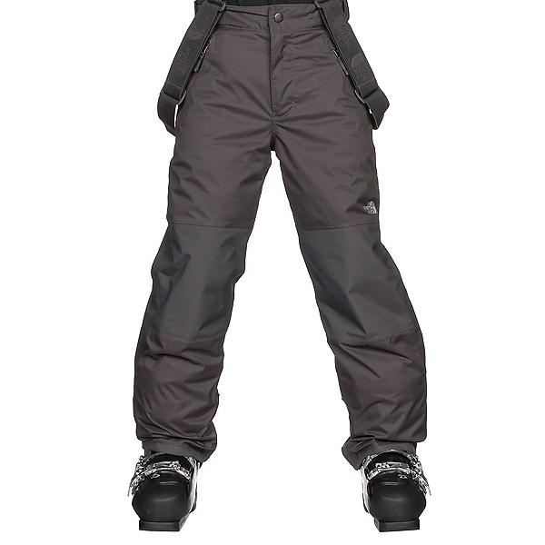 The North Face Snowquest Suspender Kids Ski Pants, Graphite Grey, 600