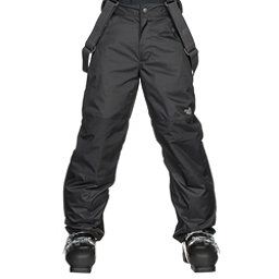 The North Face Snowquest Suspender Kids Ski Pants, TNF Black, 256