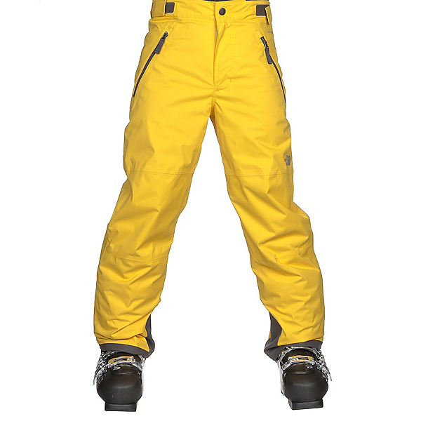 The North Face Freedom Insulated Kids Ski Pants, Canary Yellow, 600
