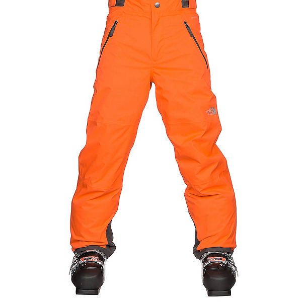 The North Face Freedom Insulated Kids Ski Pants (Previous Season), Power Orange, 600