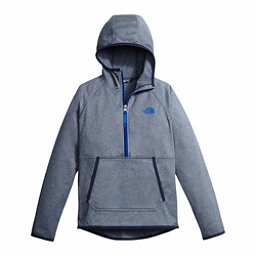 The North Face Tech Glacier 1/4 Zip Kids Midlayer, Cosmic Blue Heather, 256