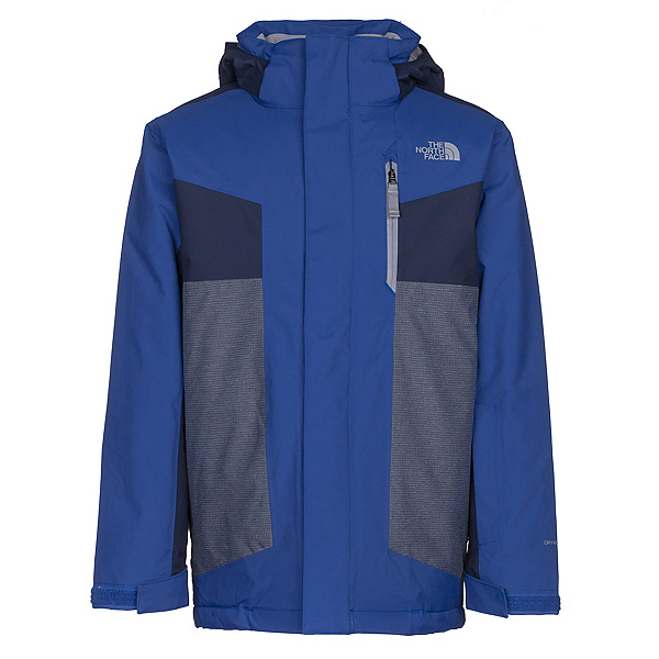 The North Face Axel Insulated Boys Ski Jacket, Bright Cobalt Blue, 600
