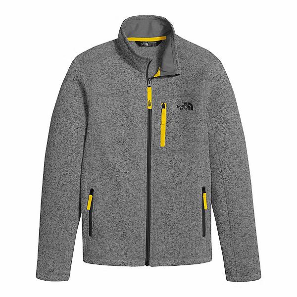 The North Face Gordon Lyons Full Zip Boys Jacket, TNF Medium Grey Heather, 600