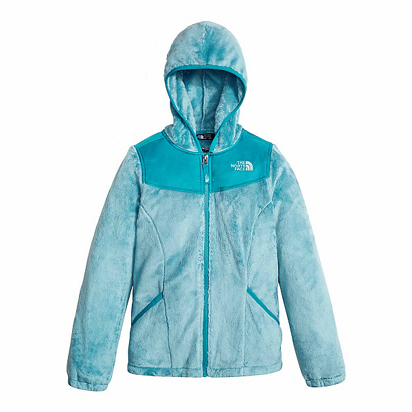 The North Face Oso Hoodie Girls Jacket (Previous Season), Nimbus Blue, 600