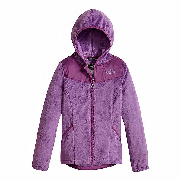 The North Face Oso Hoodie Girls Jacket (Previous Season), Bellflower Purple, 600