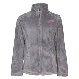 The North Face Osolita Girls Jacket, Metallic Silver, 256