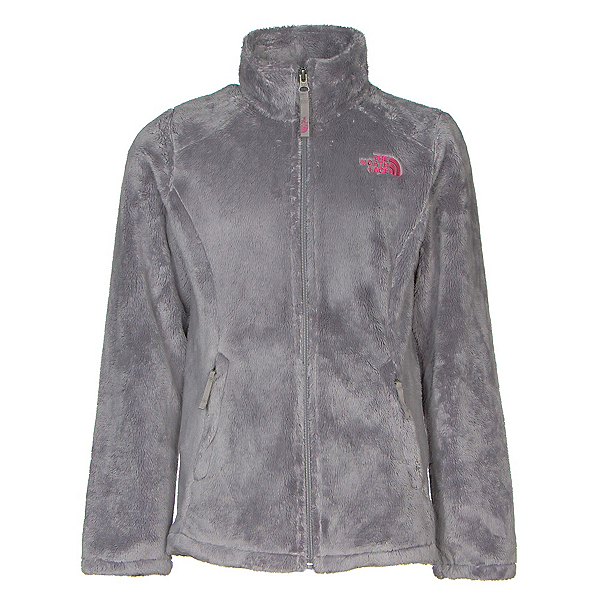 The North Face Osolita Girls Jacket, Metallic Silver, 600