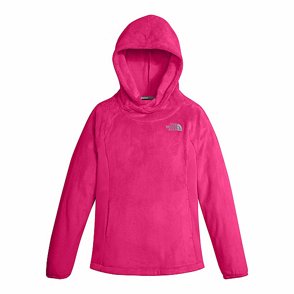 The North Face Oso Fleece Pullover Kids Hoodie (Previous Season), Petticoat Pink, 600
