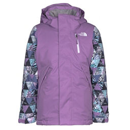 The North Face Leighli Insulated Girls Ski Jacket, Bellflower Purple, 256