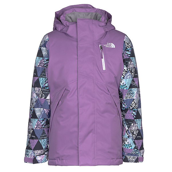 The North Face Leighli Insulated Girls Ski Jacket (Previous Season), , 600