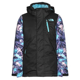 The North Face Leighli Insulated Girls Ski Jacket, TNF Black, 256