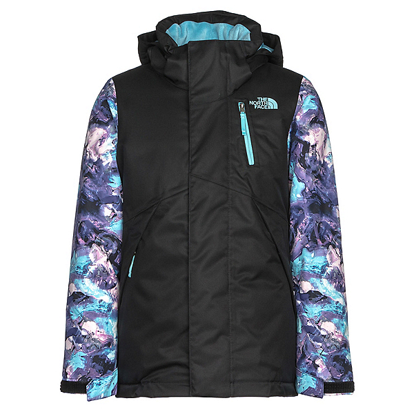 The North Face Leighli Insulated Girls Ski Jacket, TNF Black, 600