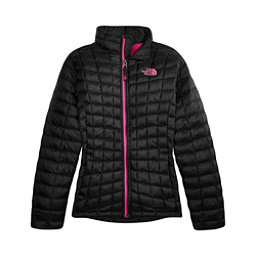 The North Face ThermoBall Full Zip Kids Midlayer, TNF Black, 256