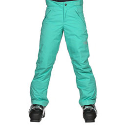 The North Face Freedom Insulated Girls Ski Pants, Bermuda Green, 256
