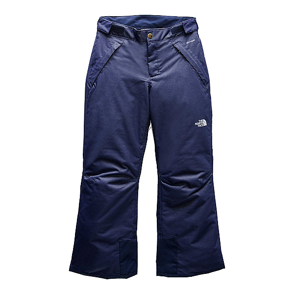 The North Face Freedom Insulated Girls Ski Pants, Montague Blue Denim Twill, 600