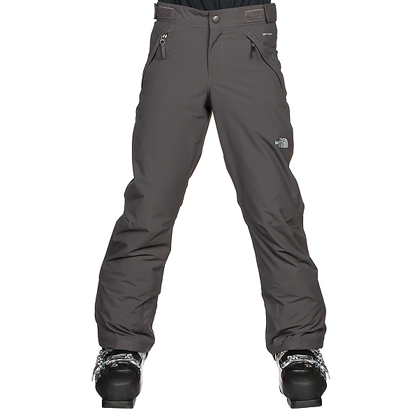 The North Face Freedom Insulated Girls Ski Pants, Graphite Grey, 600